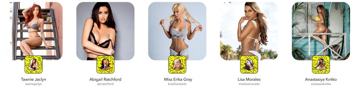 Snapchat de porno