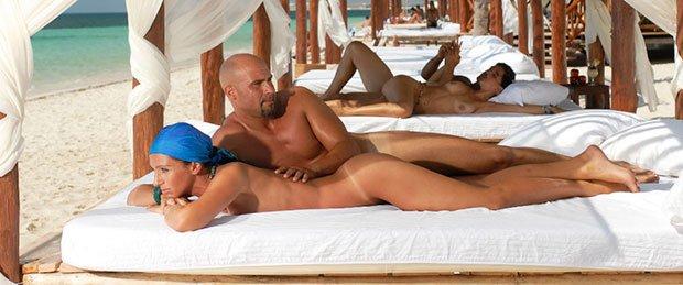 Сексуальные приключения супругов на курорте