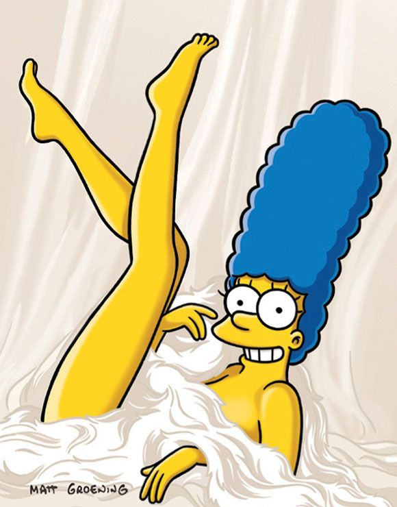 marge simpson playboy 1