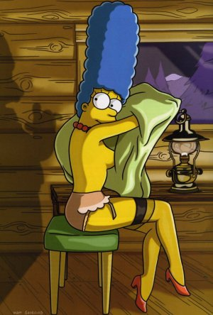 marge simpson playboy 2