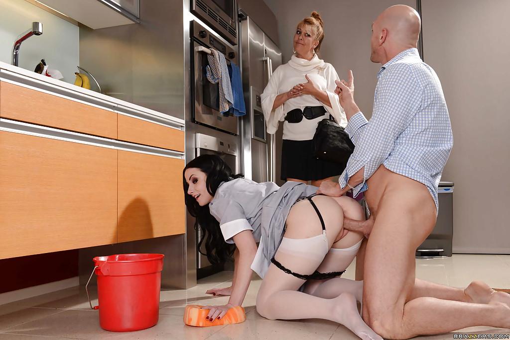 порно приходящие домработницы как человек
