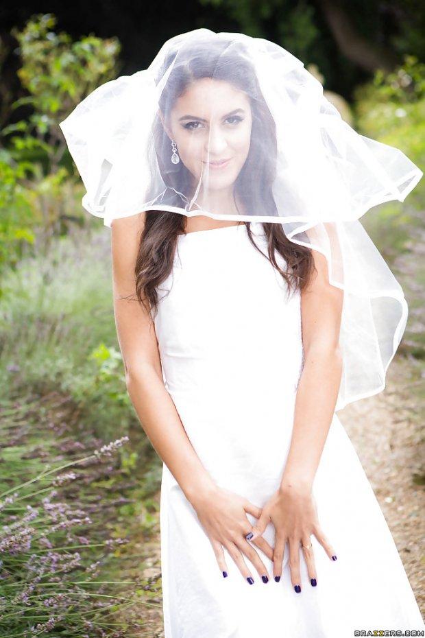 Carolina Abril noiva 1
